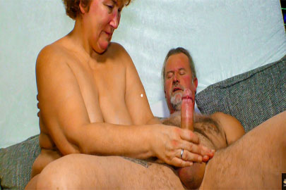 German Porn mit dicker alter Oma
