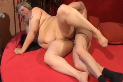Deutscher Oma Sex mit geiler Fotze aus GER